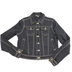 Jou Jou Black Denim Jacket